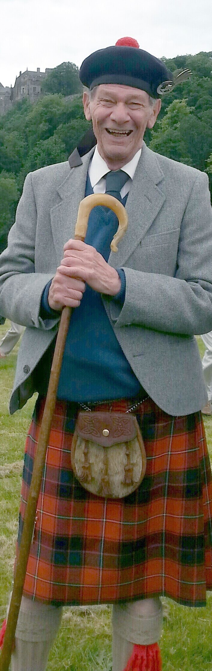 Alexander Gilbert Haldane Robertson of Struan 23rd Chief of Clan Donnachaidh